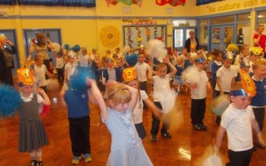 Nursery and Reception dance sensation!