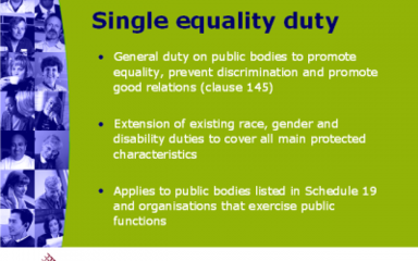 Single Equality Duty Policy 2015