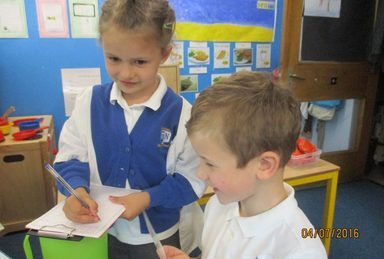 Fish and chip cafe opens in Dragonflies classroom