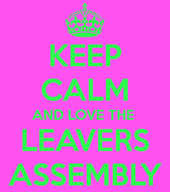 Leavers' Assembly at the Ready!
