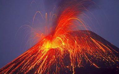 Volcanoes erupting!
