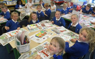 Celebrating our Good To Be Green behaviour in Golden Time