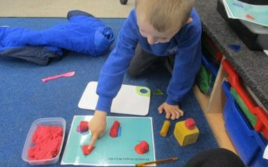 Learning about shapes through play