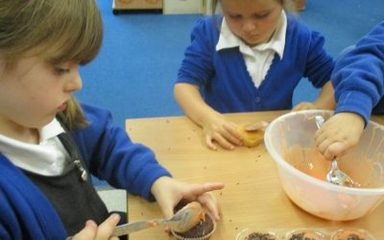 Ladybirds prepare for the Autumn Fair