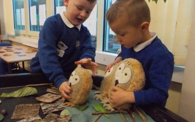 Ladybirds Love the 'Owl Babies' Story
