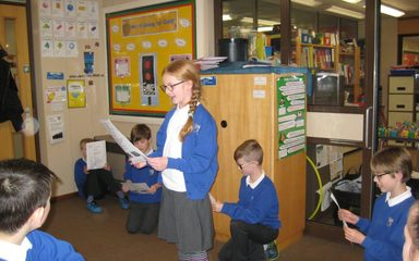 Performing a French play