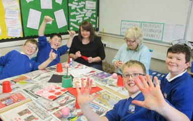 Christmas Crafts in the Beeches