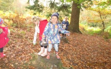 Reception Woodland Adventure