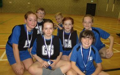 Runners up at Year 5/6 Netball Tournament