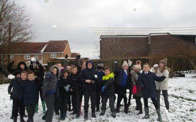 Snowy Fun in KS2!