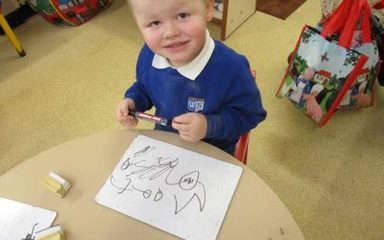 Making Marks and Writing Names