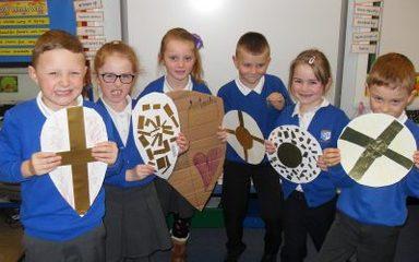 Normans versus Saxons.