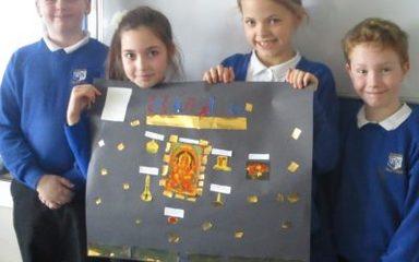 Creating Hindu shrines!