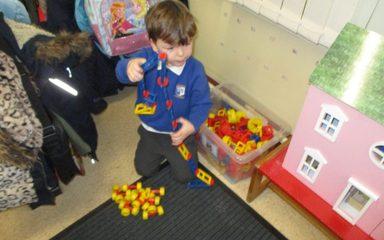 Creative Activities In Nursery Windy Nook Primary School