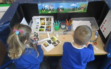 Creating stories in the Ladybirds