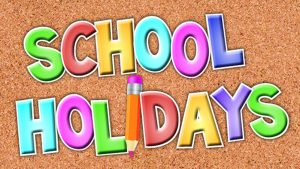 21st July - school closes for the summer holidays