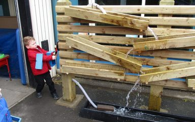 New Outdoor Environment for Nursery