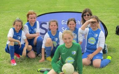 Fabulous Performance from the Girls Football Team