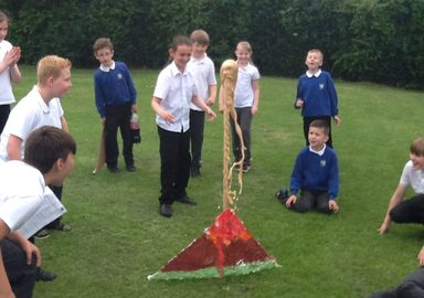Exciting Eruptions on Science Day!