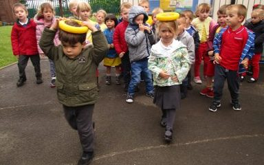 Games Day in Nursery