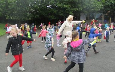 Early Years Dance for School Games Day