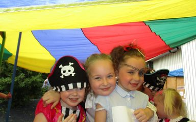 Pirates in Nursery