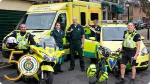 Ambulance service visit KS1