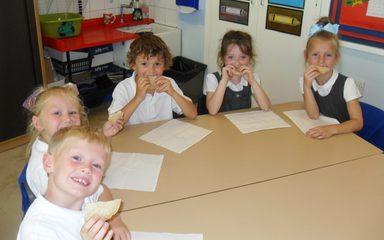 Why did Nightingales bake bread?