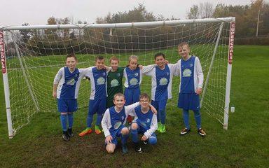 Nook run-out as Autumn Term League Winners!
