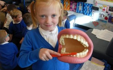 'What big teeth you have!'