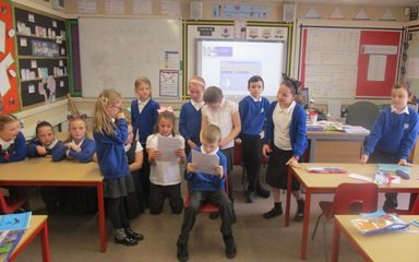 Rama and Sita Role Play in Snowdrops