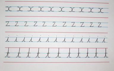 Owls handwriting w/c 06.11.17