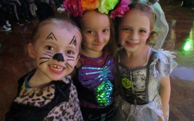 Hauntingly good fun at the Halloween Disco!