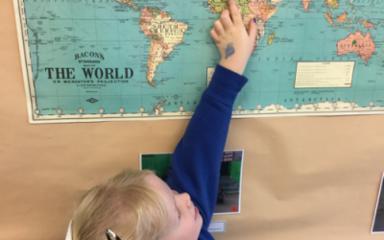 Global Vision & Friendship Week in the Ladybirds