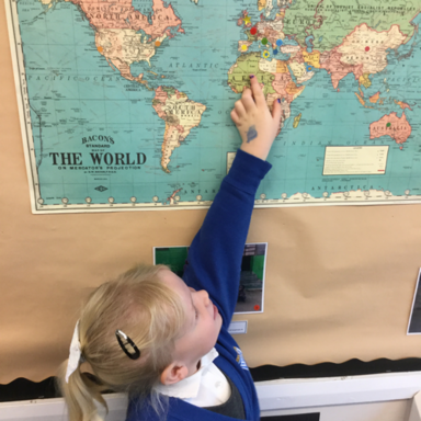 Global Vision & Friendship Week in the Ladybirds