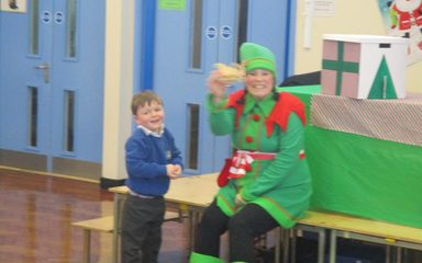 A Visit From The Christmas Elf