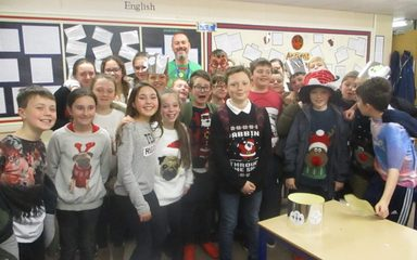 Christmas Jumper Day in the Beeches