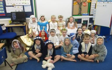 Reception Nativity Sing Along