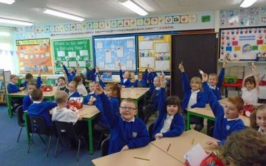 Hands up for George Stephenson!