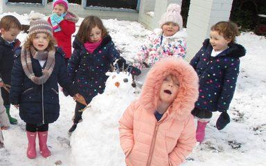 Nursery Want To Build A Snowman