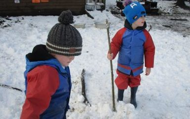 Nursery and Reception Snow homework