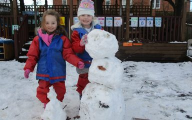 Ladybirds' Fruit Salad, Bhangra Dancing & Snow Excitement