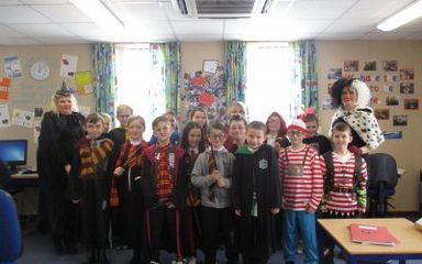 World Book Day in Mrs Hocking's Class