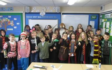 World Book Day In Elms