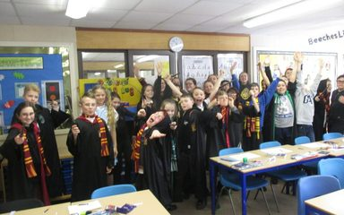 World Book Day in Beeches