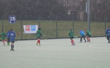 Hockey In The Hail