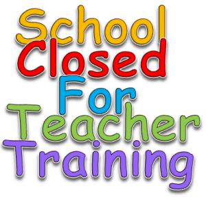 Training Day - school closed to children