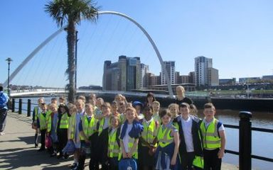 What a Wonderful Day at the Quayside!
