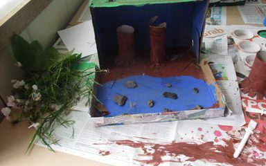 Rainforest Dioramas Stage 3: Models