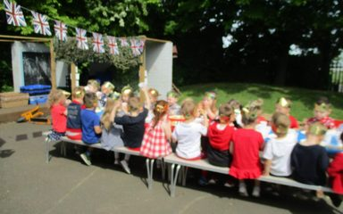 Royal fun in Nursery.